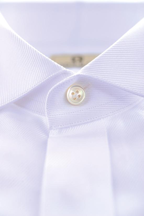 weißes Maßhemd
