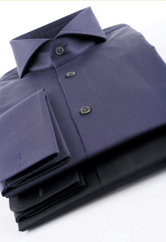dunkle Maßhemden
